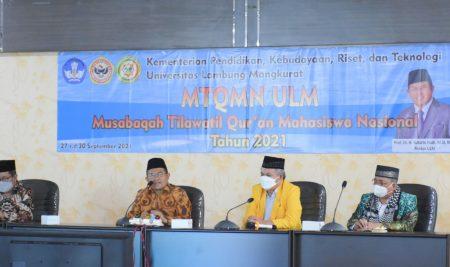 GRAND FINAL MUSABAQAH TILAWATIL QUR'AN MAHASISWA NASIONAL (MTQMN) ULM 2021